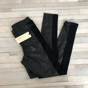 Pleather Leggings size Small